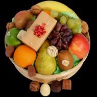 Fruitmand met bonbons bezorgen in Sluis