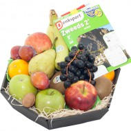 Fruitmand met puzzelboek bezorgen in Retranchement