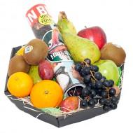 Fruitmand met tijdschrift bezorgen in Kwadendamme