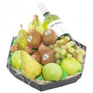 Fruitmand witte wijn bezorgen in Huis ter Heide
